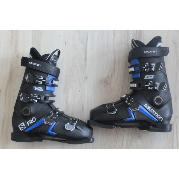 8037  SALOMON S PRO, 27- 27,5,  EU 42,5- 43,5, 324mm, flex 90- 2020