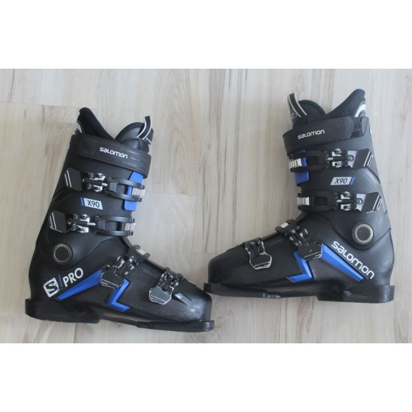 8038  SALOMON S PRO, 27- 27,5,  EU 42,5- 43,5, 314mm, flex 90- 2020