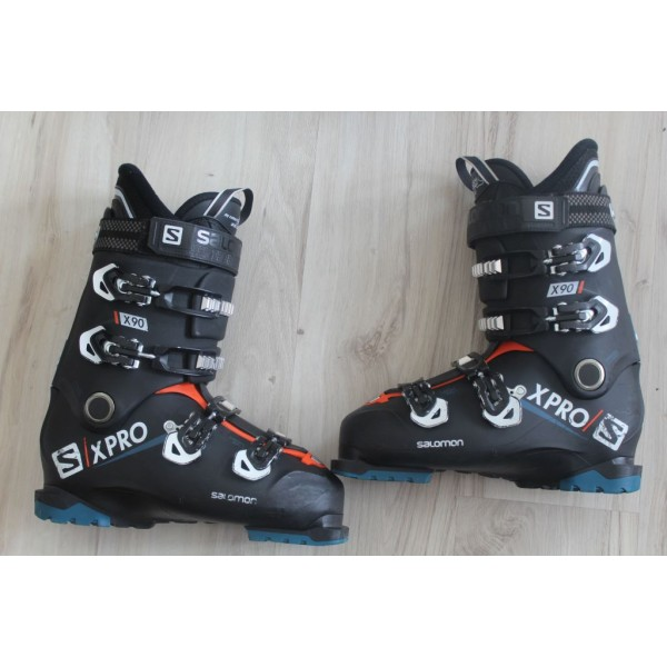 8039  SALOMON X PRO, 27- 27,5,  EU 42,5- 43,5, 316mm, flex 90