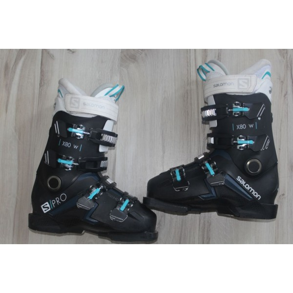 8069 SALOMON X PRO, 24- 24,5,  EU 38- 39, 284mm, flex 80 - 2020